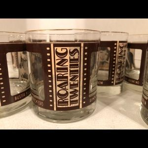 VINTAGE WHISKEY GLASSES